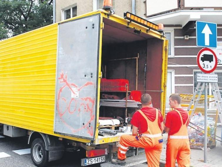 Szczecin: Jeden kierunek na Żelaznej. Malują już oznakowanie