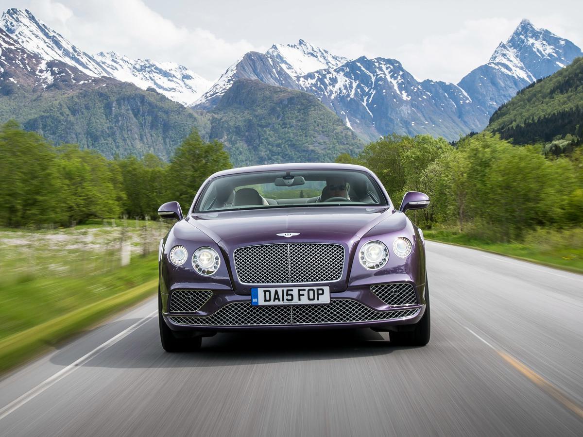 Bentley Continental GT / Fot. Bentley