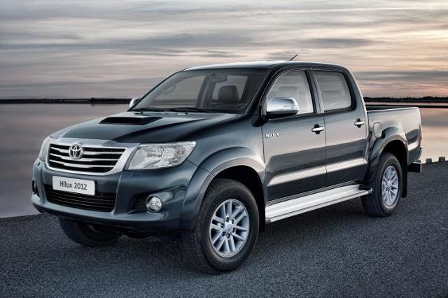 Toyota Hilux - lifting i nowe silniki - zobacz zdjęcia