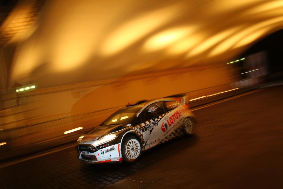 Fot. Lotos Rally Team- Kajetan Kajetanowicz/Jarek Baran - Ford Fiesta R5+