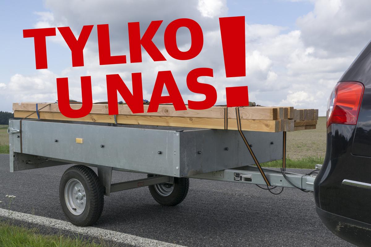 Od maja do końca sierpnia zarejestrowano ponad 1000 przyczep bez informacji o dopuszczalnej masie całkowitej (DMC ). Podczas pierwszej rejestracji urzędnicy z niewiedzy lub wskutek błędu wpisują DMC przyczepy na 1 kg! Redakcja motofakty.pl uważa, że takie działanie rodzi poważny problem związany z bezpieczeństwem na polskich drogach.  Fot. 123RF