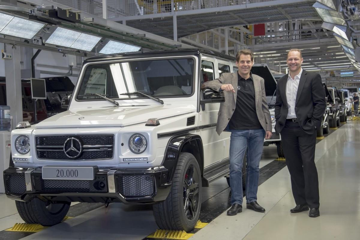Na zlecenie Mercedes-Benz, od 1979 r., legendarna Klasa G powstaje w zakładach Magna Steyr w Austrii. Model niezmiennie cieszy się wysoką popularnością. Od chwili premiery znalazł już ponad ćwierć miliona nabywców.  Fot. Mercedes-Benz