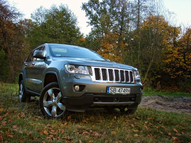 Jeep Grand Cherokee 3.0 CRD, Fot: Przemysław Pepla