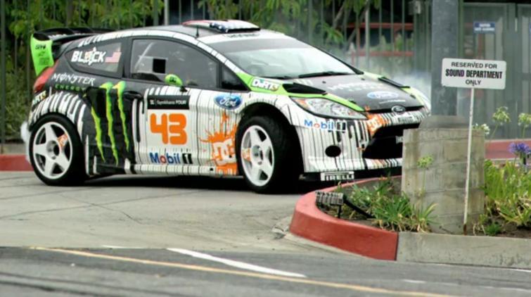 Ken Block i jego Ford Fiesta - zobacz najnowszy film