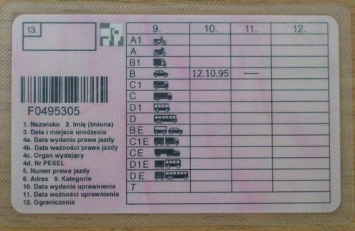 Firma ubezpieczeniowa odmówiła wypłaty odszkodowania kierowcy, który we właściwym terminie nie dokonał wymiany prawa jazdy.