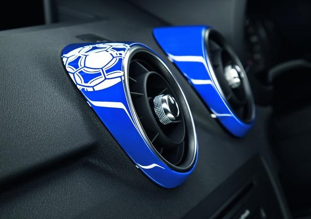 zdjęcie Audi A1 Samurai Blue