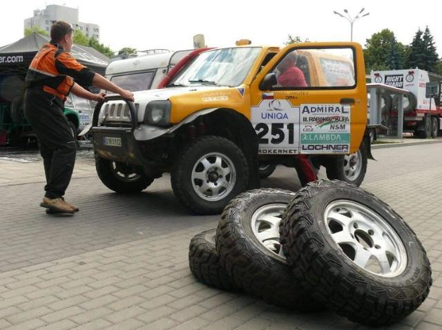 """Ruszył Rajd Pojazdów Terenowych """"Baja Carpathia 2011"""""""