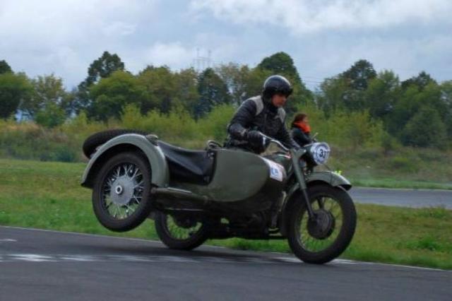 Wyścig zabytkowych motocykli Super veteran 2012 w Lublinie