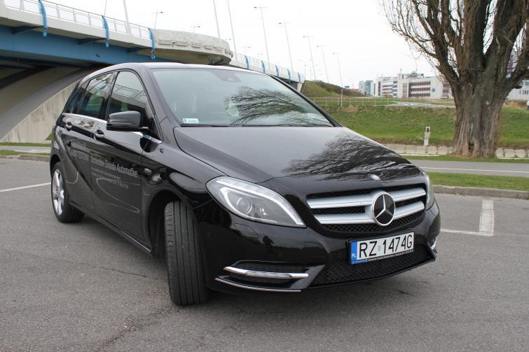 Testujemy: Mercedes klasy B - kompakt z górnej półki. Zdjęcia