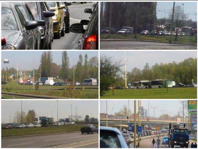 Szczecin: Gigantyczny korek na Gdańskiej