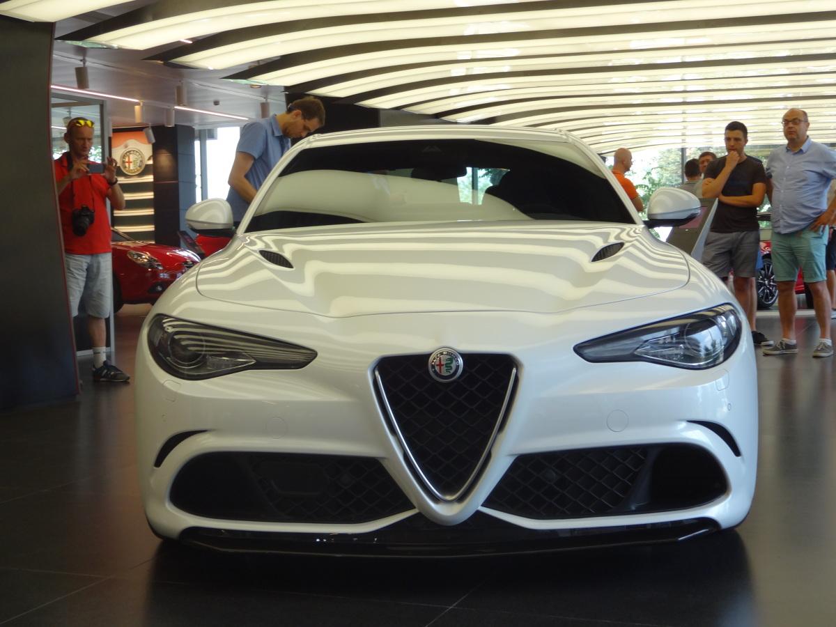 Alfa Romeo Giulia/Fot. Tomasz Szmandra