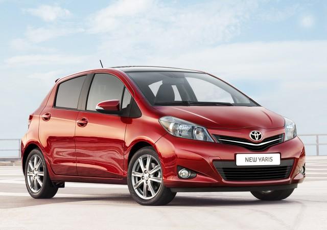 Najmniej awaryjne samochody  Przebieg 0 do 50 000 km - samochody małe   Toyota Yaris / Fot. Toyota