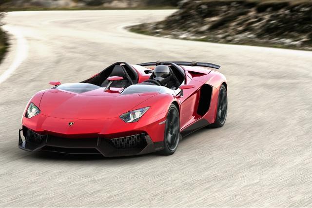 zdjęcie Lamborghini Aventador J