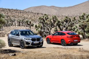 BMW X3 M i  BMW X4 M. Z mocą ponad 500 KM!