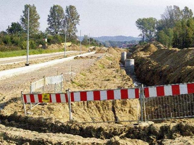 Obwodnica Koszalina: słaby grunt wstrzymał prace