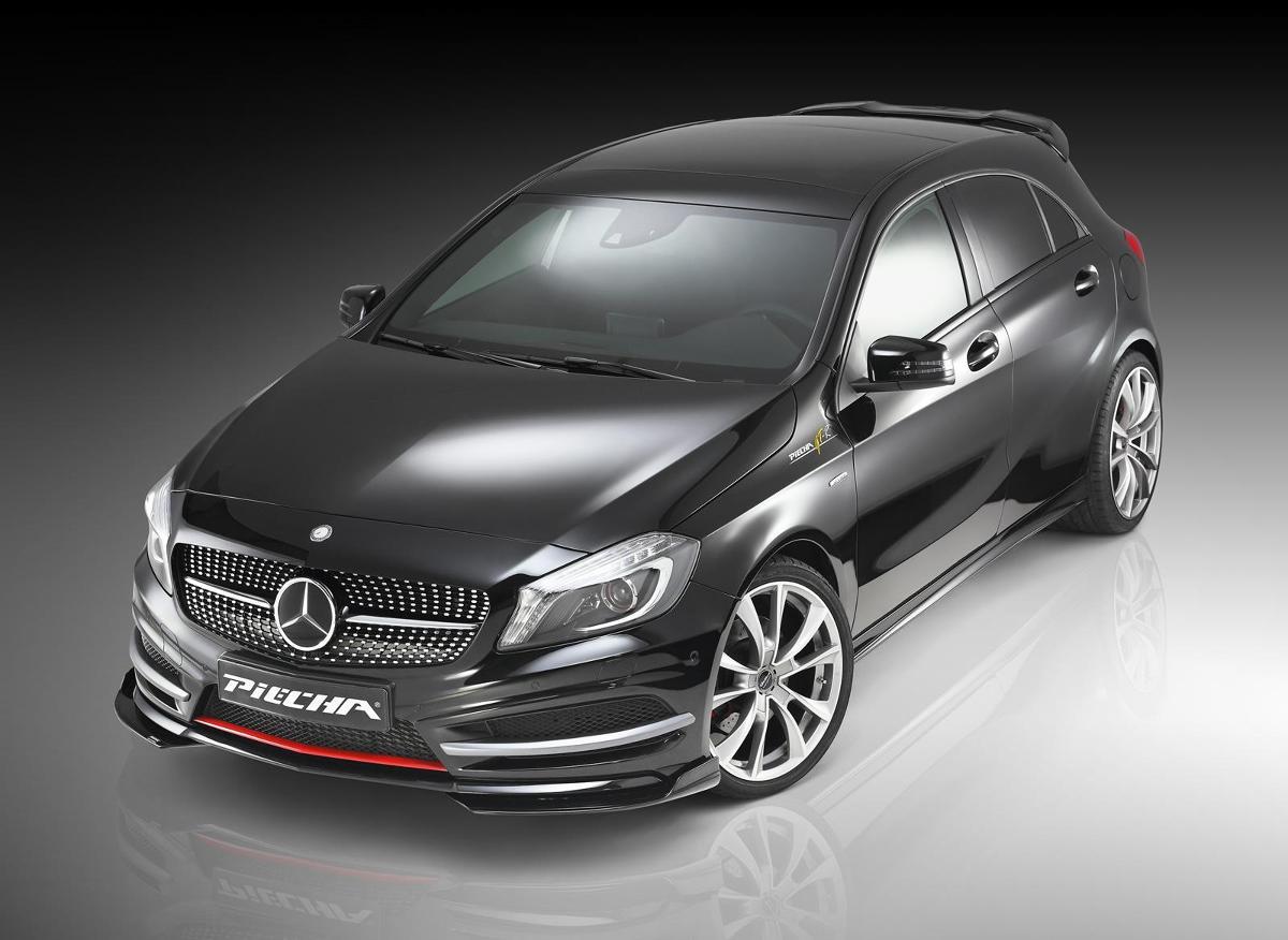 Mercedes-Benz A-klasy AMG Line / Fot. Piecha Design
