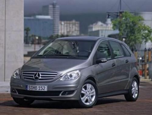 Fot. DaimlerChrysler:  Mercedes-Benz klasy B