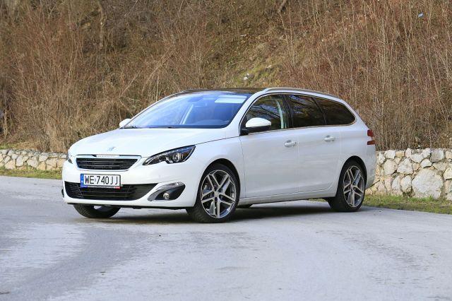 Peugeot 308 SW / Fot. Karol Biela