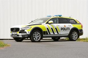 Volvo V90 Cross Country. Teraz także jako specjalny radiowóz