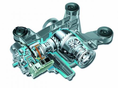 Fot. VW: Sprzęgło Haldex znajduje się przy tylnej osi przed mechanizmem różnicowym w autach grupy Volkswagena z napędem 4x4.