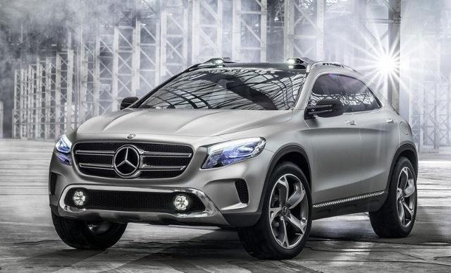 zdjęcie Mercedes-Benz GLA Concept