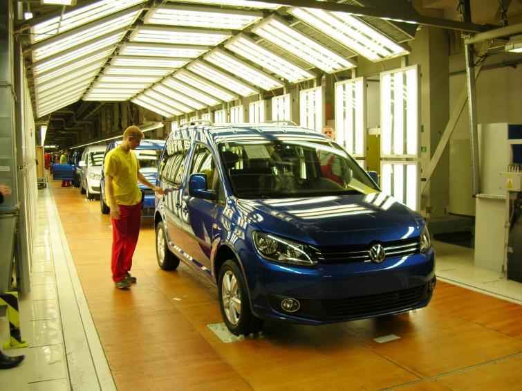Volkswagen Caddy z Poznania: milionowy samochód