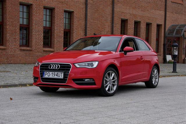 Audi A3  Fot: Mototarget