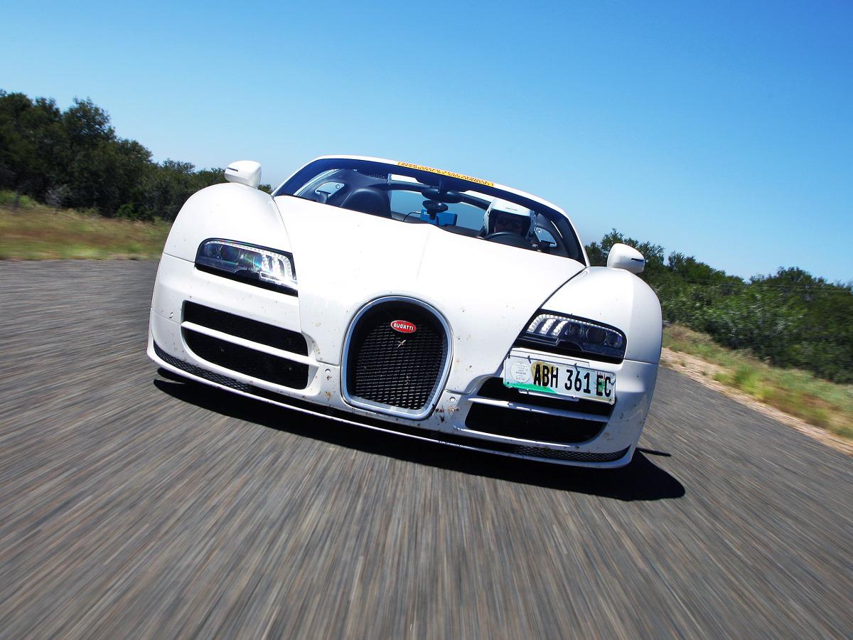 Bugatti Veyron Grand Sport Roadster / Fot. Bugatti