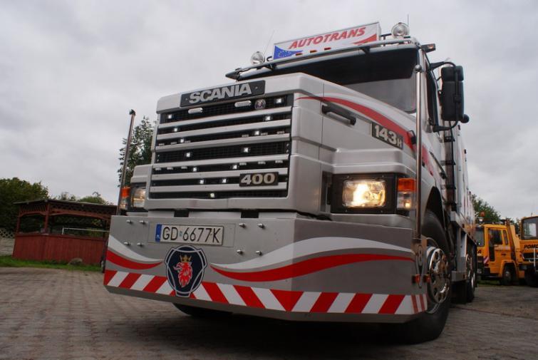 Ślicznotka na 400 koniach mechanicznych - Miss Scania 2011