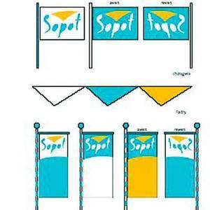 Fot. źródło: UM Sopot: Tak miałyby wyglądać nowe tablice informacyjne.