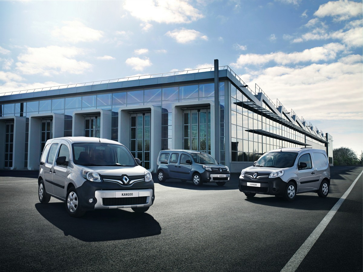 Nowe Renault Kangoo Express, Kangoo Compact, Kangoo Maxi Fot: Renault