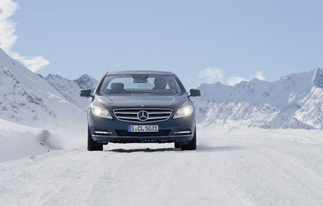 zdjęcie Mercedes-Benz CL 500 4MATIC BlueEFFICIENCY