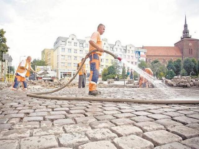 Ulica Grodzka w Słupsku od dziś będzie otwarta dla ruchu