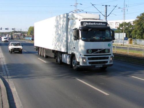 Fot. Tomasz Gola: Z możliwości czasowego wycofania pojazdu z ruchu mogą skorzystać m.in. właściciele samochodów ciężarowych.