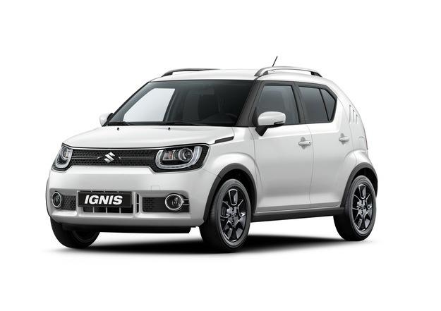 Suzuki Ignis   Nowe Suzuki Ignis do salonów sprzedaży w Europie ma trafić w styczniu 2017 roku. Premiera została zaplanowana na salon w Paryżu rozpoczynający się 1 października.  Fot. Suzuki