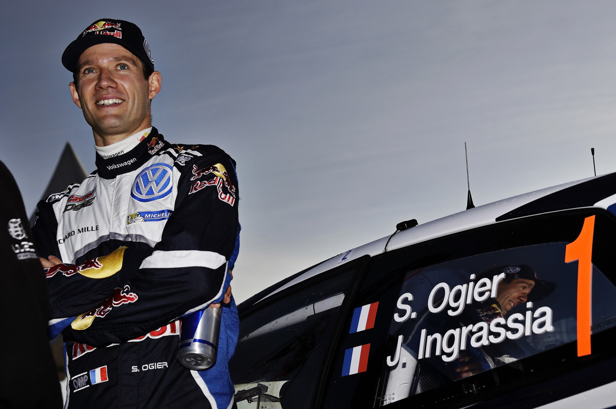 Sebastien Ogier / Fot. Volkswagen