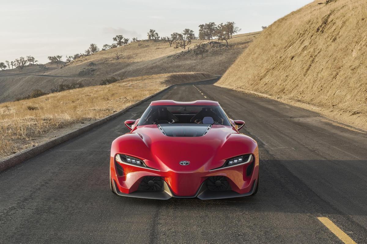 Toyota FT 1 Concept, fot.: Toyota