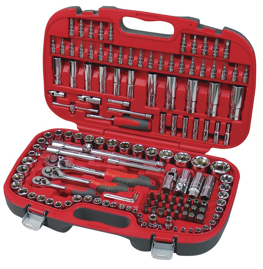 Stal Cr-V zapewni trwałość narzędzi na długie lata.