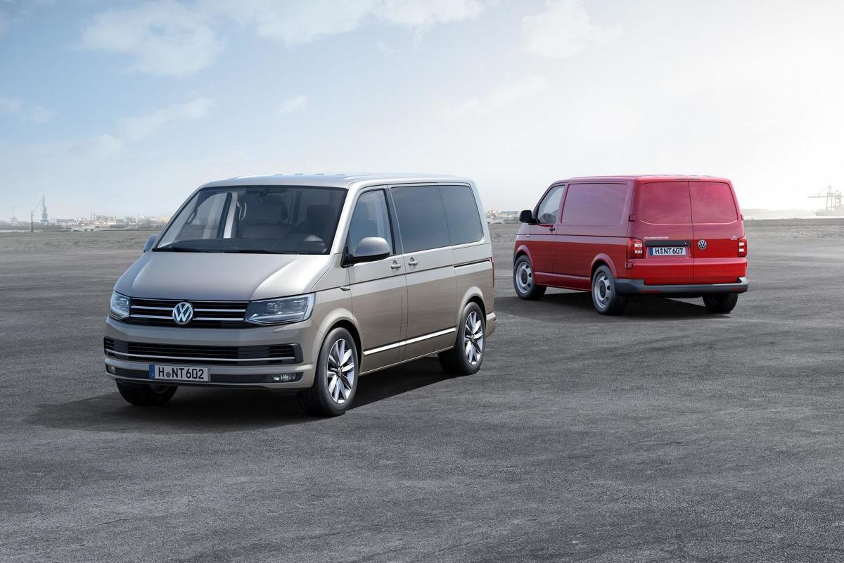Volkswagen Transporter T6 Test I Dane Techniczne Galeria