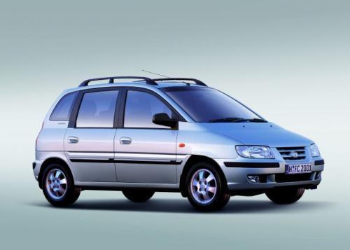 Fot. Hyundai: Hyundai Matrix to praktyczny samochód miejsko-uniwersalny mogący przewieźć 5 osób.