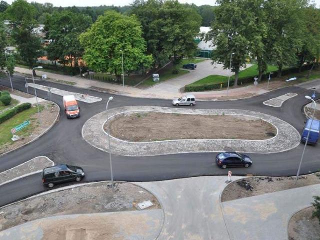 Ulica Szczecińska w Szczecinku już przejezdna
