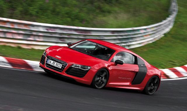 Debiut R8 E Tron Pod Znakiem Zapytania Fot Audi