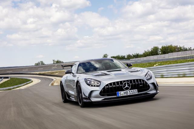 Mercedes AMG GT Black Series. Z najmocniejszym silnikiem  Fot. Mercedes