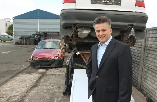 Złomowisko, Marek Kępa