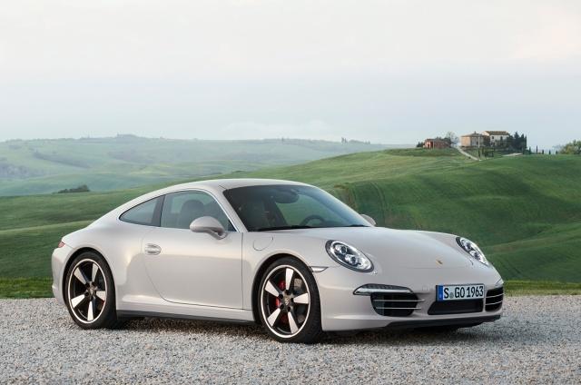 zdjęcie Porsche 911 50 Years Edition