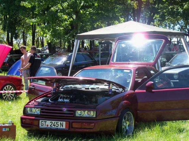 Zlot miłośników samochodów grupy Volkswagena