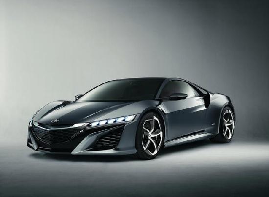 Honda NSX Concept , Fot: Honda