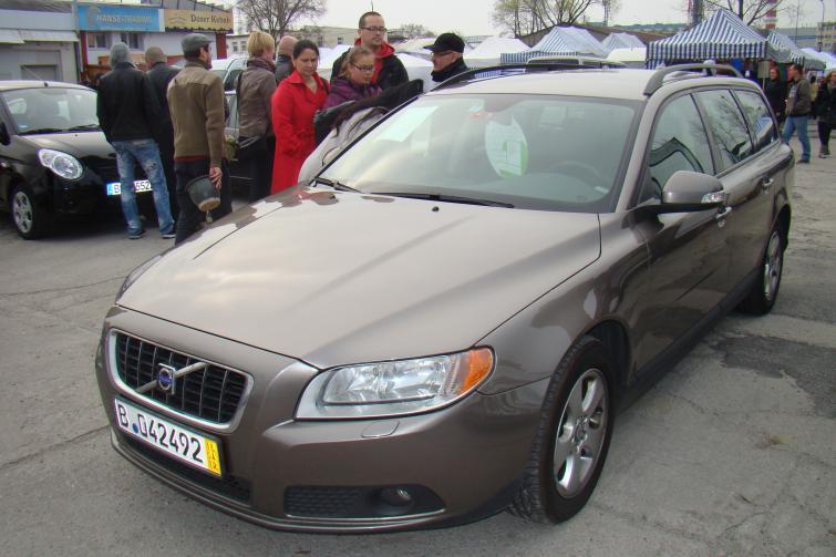 Giełda samochodowa w Zielonej Górze - 15 kwietnia 2012 roku
