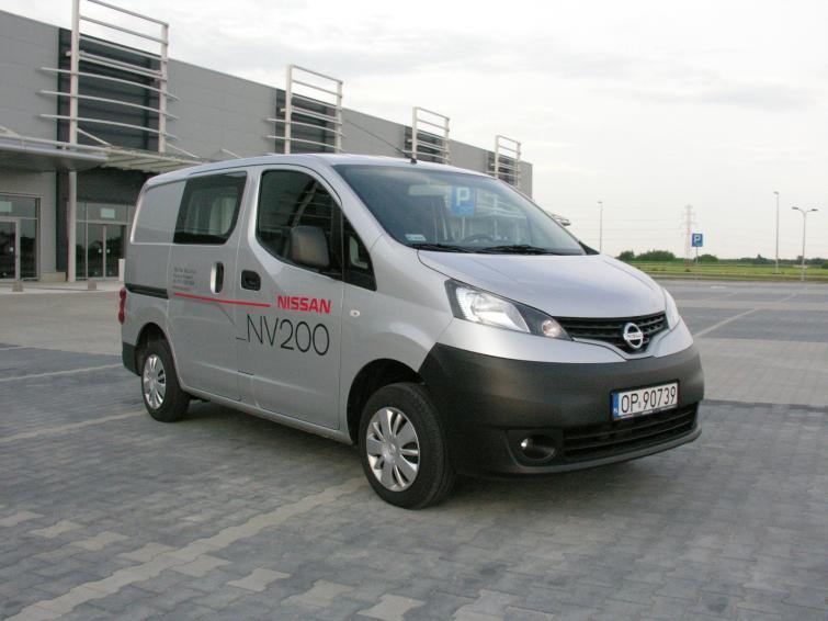 Bardzo dobra Testujemy: Nissan NV200 - miejski samochód dostawczy RC04