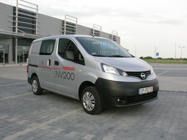 Testujemy: Nissan NV200 - miejski samochód dostawczy